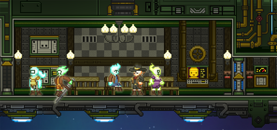 Starbound Crewmembers